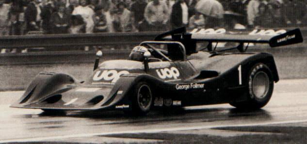 George Follmer com o DN4 em 1974
