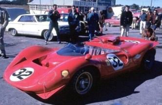 O 412 P em 1967, na estreia da marca.