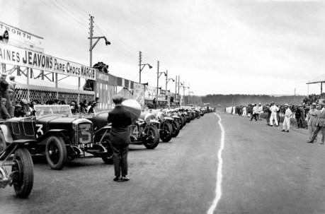 A preparação da largada de 1926 (Motorpost)