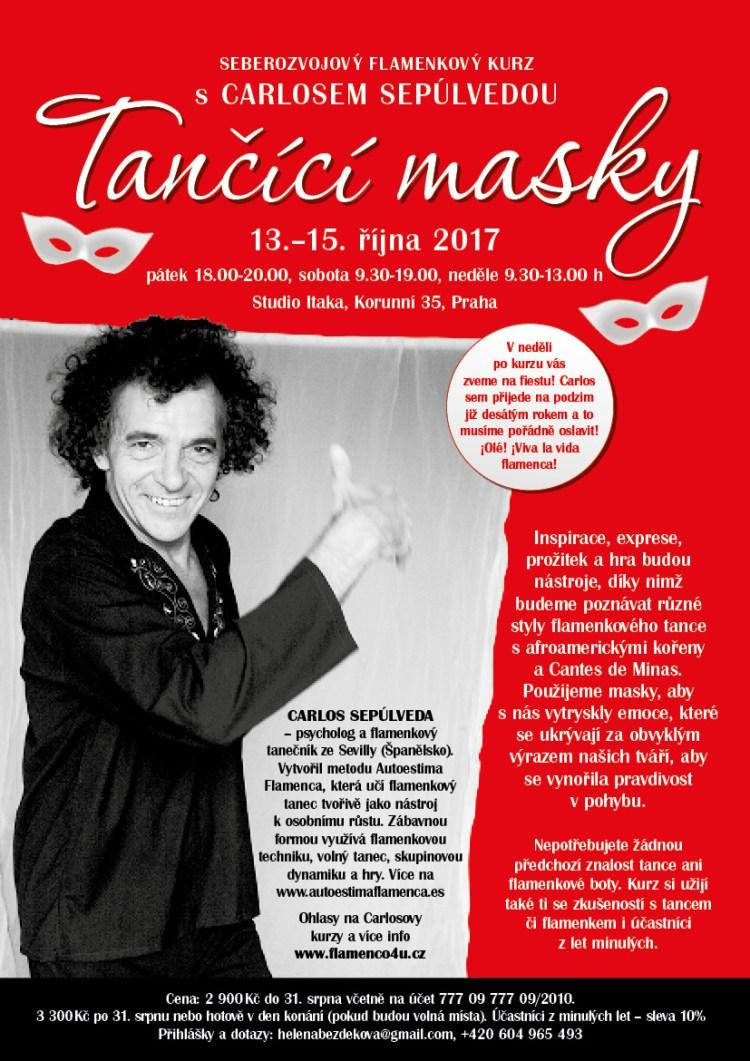 Tancici Masky taller Republica Checa Octubre 2017