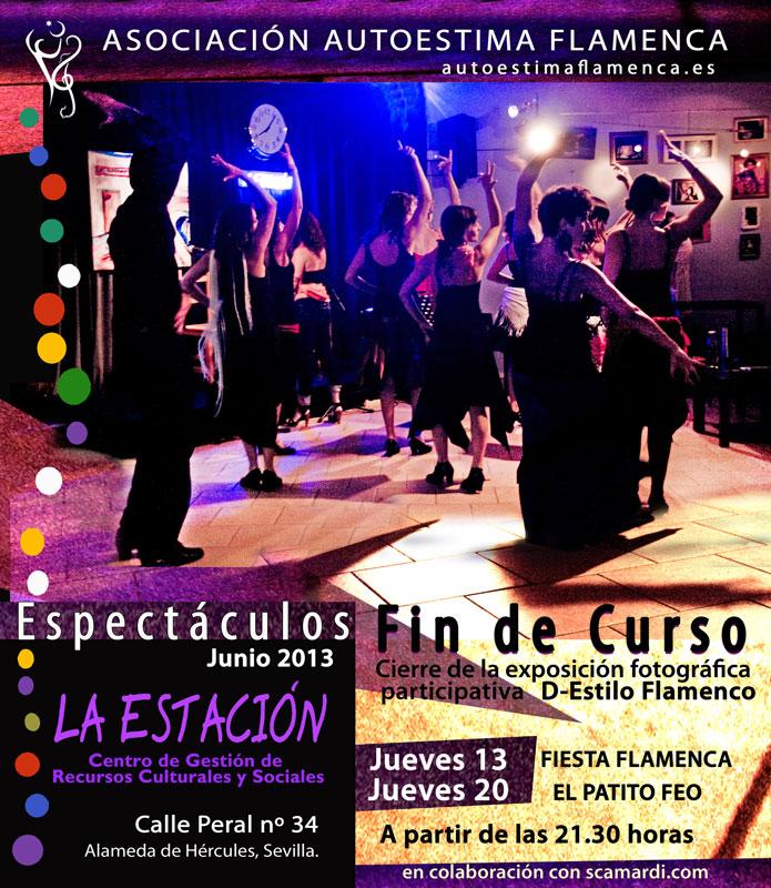 Destacada Fiesta Flamenca y Patito Feo