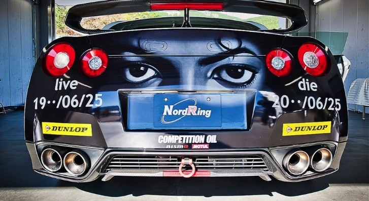 Nissan GT-R as MJ