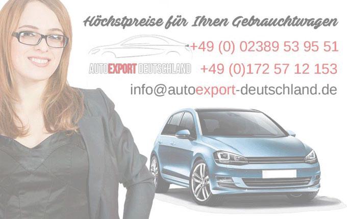 Autoexport Haendler