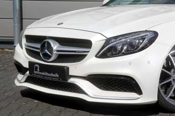 BB C63 AMG Front Detail