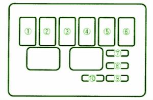 2004 Mazda MX5 Miata Fuse Box DIagram – Auto Fuse Box Diagram