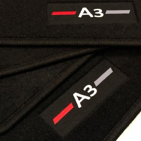 logo automatten audi a3 8va sportback 2013 neuheiten