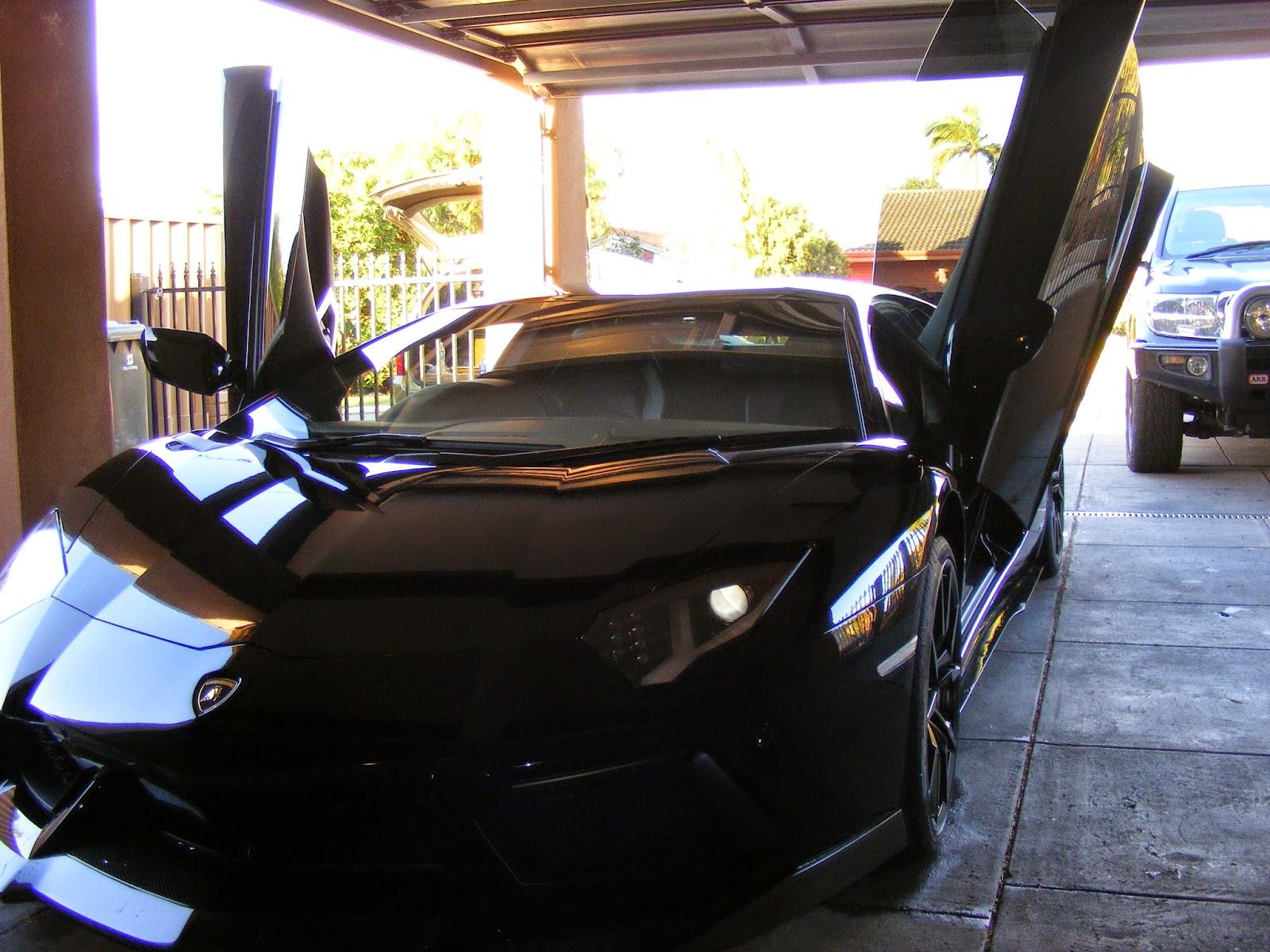 Maintenance Detail – Lamborghini Aventador