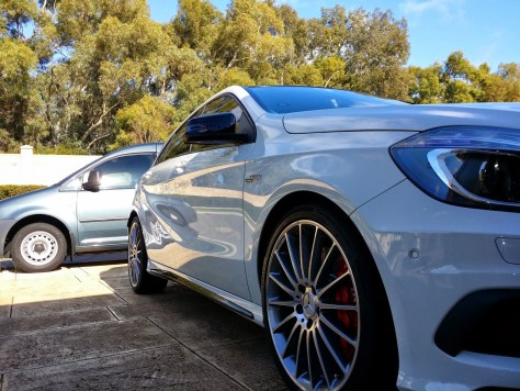 Paint Protection – AMG A45