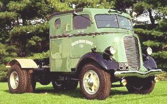 Image result for 1938 truck sleeper cab