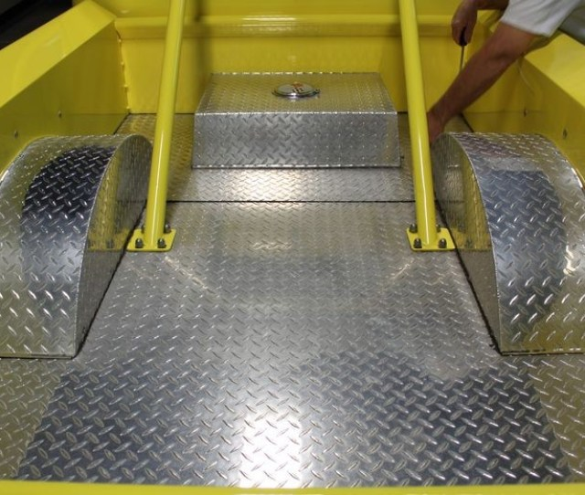 Diamond Plate Aluminum From Dullsville To Mirror Shine On A 1947 Chevy Pickup