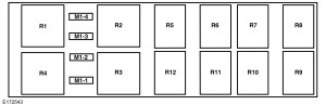 Ford F53 F53 Motorhome Chassis (2015) – fuse box diagram