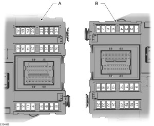 Ford SMAX mk1 (2006  2015)  fuse box diagram (EU