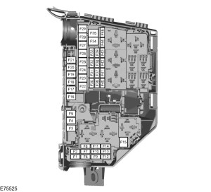 Ford SMAX mk1 (2006  2015)  fuse box diagram (EU version)  Auto Genius