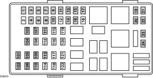 Ford Transit mk6 (from 2000)  fuse box diagram (EU