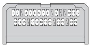 Toyota Corolla (2012  2016)  fuse box diagram  Auto Genius