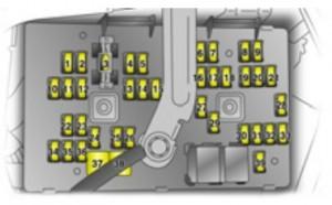 Vauxhall Antara (2006  2010)  fuse box diagram  Auto Genius