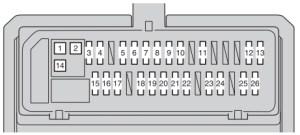 Toyota Corolla (2006  2013)  fuse box diagram  Auto Genius