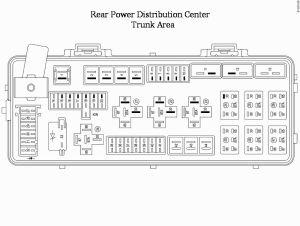 Dodge Challenger RTSRT (from 2008) fuse box diagram