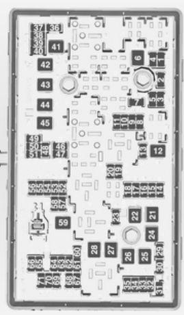 Opel Insignia (2012  2013)  fuse box diagram  Auto Genius