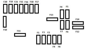 Citroen C3 Picasso (from 2008)  fuse box diagram  Auto Genius