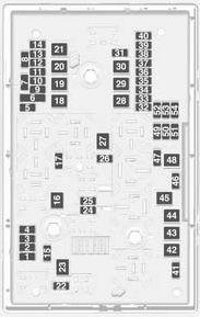 Vauxhall Astra GTC (2011  2012)  fuse box diagram  Auto Genius