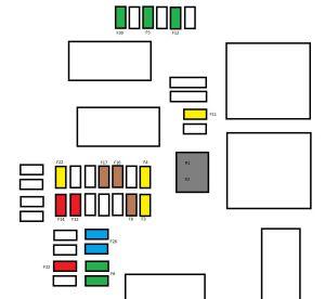 Citroen C4 mk2 (from 2011)  fuse box diagram  Auto Genius