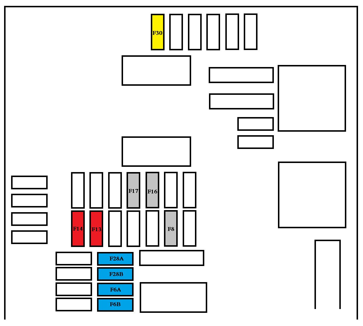 Peugeot 407 Fuse Box Layout