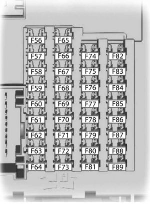 Ford CMAX HybridEnergi (from 2014)  fuse box diagram