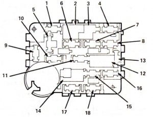Lincoln Mark VII (1988  1992)  fuse box diagram  Auto