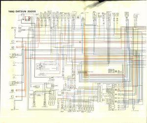 Datsun 200SX (1980)  wire diagram  Auto Genius