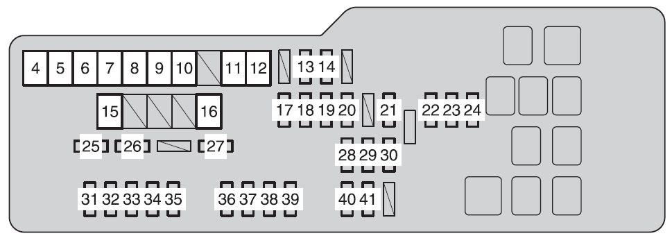 2017 Tundra Fuse Box Diagram Schematic Diagrams. 2017 Camry Fuse Diagram Wiring \u2022 2005 Toyota Tundra Box. Wiring. 2000 Tundra Engine Compartment Fuse Box Diagram At Scoala.co