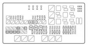 Toyota Tundra (2007  2008)  fuse box diagram  Auto Genius