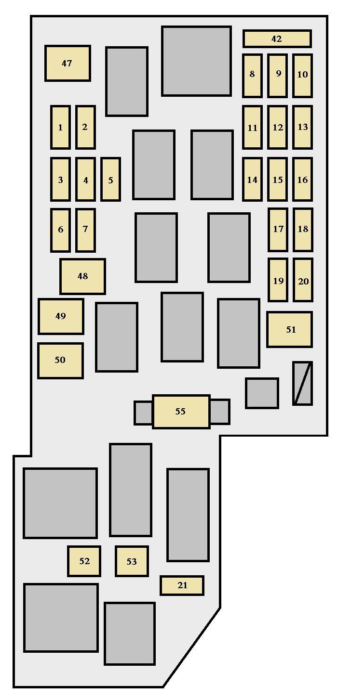 Toyota Celica Fuse Box Layout Schematics Wiring Diagram Sienna Data 2004 Camry
