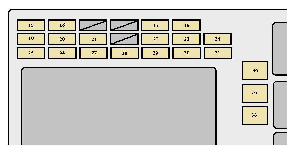 2004 toyota matrix fuse box explained wiring diagrams rh dmdelectro co 2004 matrix fuse box diagram 2004 toyota matrix fuse box location