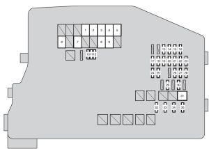 Scion tC (2014  2016)  fuse box diagram  Auto Genius