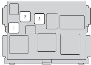 Scion xB (2012  2016)  fuse box diagram  Auto Genius