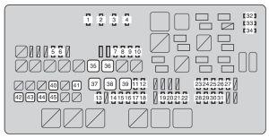 Toyota Tundra (2009)  fuse box diagram  Auto Genius