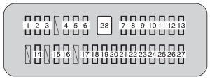 Toyota Tundra (2010)  fuse box diagram  Auto Genius