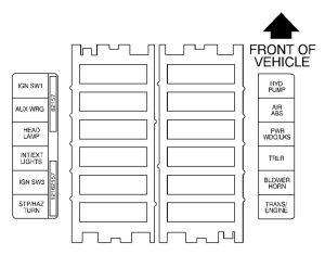 Gmc C6500 Fuse Box  Wiring Diagram