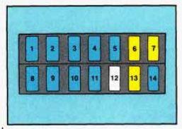 Geo Tracker (1993  1995)  fuse box diagram  Auto Genius