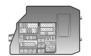 Pontiac Vibe (2010)  fuse box diagram  Auto Genius