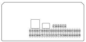 Mazda 3 (2004  2005)  fuse box diagram  Auto Genius