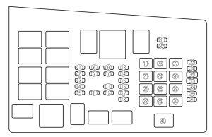 Mazda 6 (2006  2008)  fuse box diagram  Auto Genius