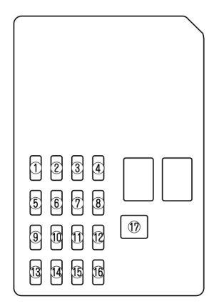 Mazda 6 (2004)  fuse box diagram  Auto Genius