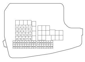 Mazda CX5 (2016)  fuse box diagram  Auto Genius