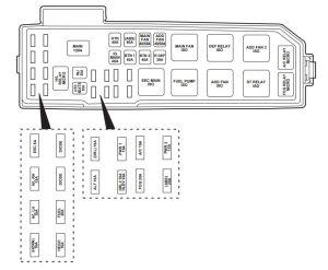 2004 Mazda 6 Interior Fuse Box Diagram | wwwindiepedia