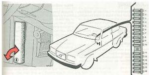 Volvo 240 (1985)  fuse box diagram  Auto Genius
