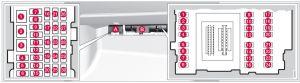 Volvo XC70 (2016)  fuse box diagram  Auto Genius