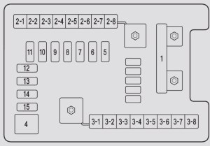 Acura MDX (2011)  fuse box diagram  Auto Genius