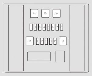 Honda Odyssey (2011)  fuse box diagram  Auto Genius